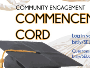 Commencement Cords Drop-In Session