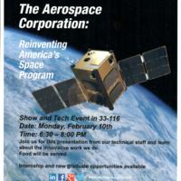 Aerospace Corporation - Show and Tech Event