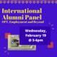 International Alumni Panel: OPT, Employment, and Beyond
