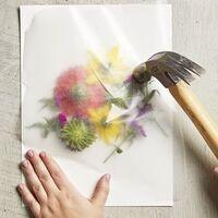 Craft Saturday: Flower Smashing