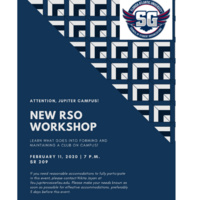 New RSO Workshop