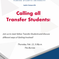 Calling All Transfer Students