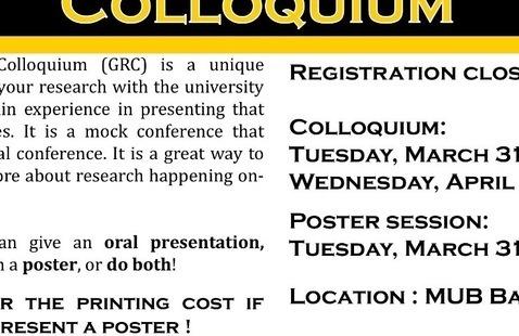 Graduate Research Colloquium