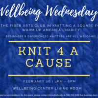 Wellbeing Wednesday: Knit 4 A Cause
