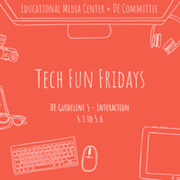 Tech Fun Fridays - Workshop for DE Guideline 5.5