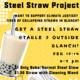 Steel Straw Project