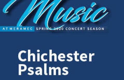 Meramec Music Presents: Chichester Psalms