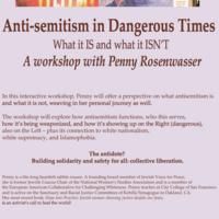 Anti-Semitism in Dangerous Times