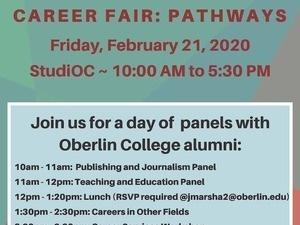 The Creative Writing Career Fair: Pathways
