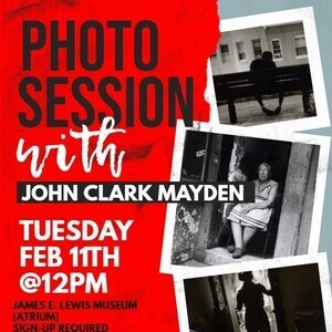 Photo Session with John Clark Mayden - SYE Event