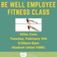 Be Well - Employee Fitness Classes