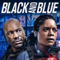 "Movie poster from ""Black and Blue"""