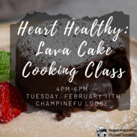 Heart Healthy Lava Cake Cooking Class
