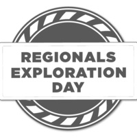 Text reads: Regionals Exploration Day in grey