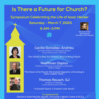 "Symposium: ""Is There a Future for the Church?"""