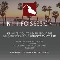 K1 Visits LMU: Join Us for an Info Session