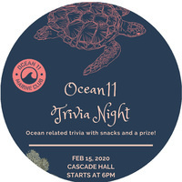 Ocean11 Trivia Night, Saturday, Feb 15