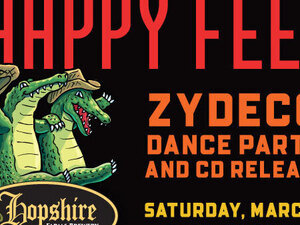 Happy Feet Zydeco Dance Party with Lil' Anne & the Hot Cayenne