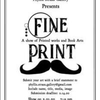 Fine Print Submission Deadline