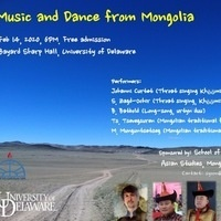Music and Dance from Mongolia