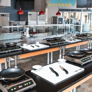 Teaching Kitchen Sibs N Kids Open House