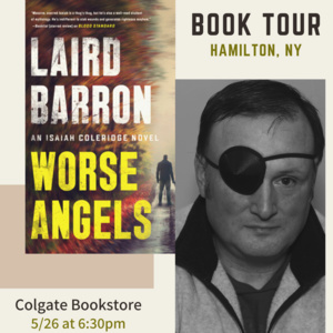 Book Signing with Laird Barron