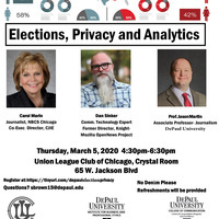 Elections, Privacy and Analytics
