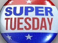 "label button, reading ""Super Tuesday"""