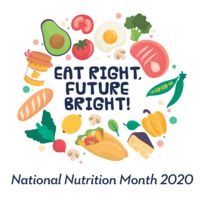 Eat Right, Future Bright - 2020 National Nutrition Month