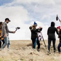 SOU Digital Cinema students collaborate on location