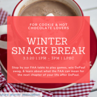 Winter Snack Break | Free Hot Chocolate & Cookies for Everyone!