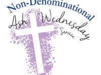 Non-Denominational Ash Wednesday Service