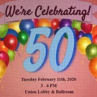College Union 50th Birthday