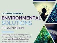 Schmidt Environmental Solutions Fellows Open House