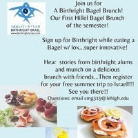 Birthright Bagel Brunch! | Hillel