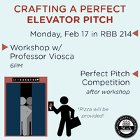Elevator Pitch Workshop & Competition