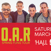 O.A.R – Spring Fling Tour - SATURDAY, MARCH 14 | 8:00PM