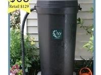 50-gallon Ivy Rain Barrel