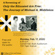Only the Educated are Free: The Journey of Michael Middleton