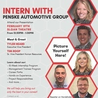 Penske Internship Info Session