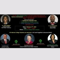 BSU Presents... Black Student Affairs in Higher Ed Panel