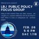 LBJ Public Policy Focus Group