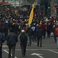 Protests in Ecuador