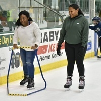 Valentine's Day Ice Skating Event