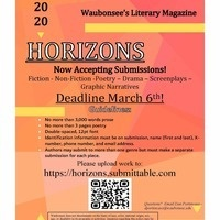 Horizons Now Taking Submissions!