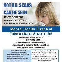 Ellsworth Adult Mental Health First Aid -Postponed 👀