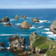 Cooks islands in the south pacific