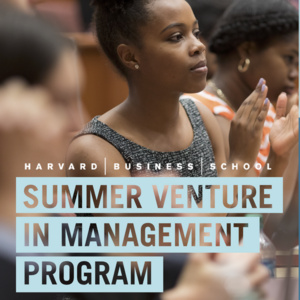 Harvard Business School SVMP Info Session