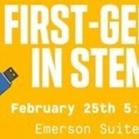 First-Gen in STEM Event!