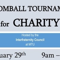 Broomball Tournament for Charity by Interfraternity Council